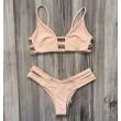 Rosa Bandage Badeanzug Sexy Bikini Badebekleidung Badeanzug