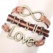 Niedlich Liebe Unendlichkeit Jesus Armband