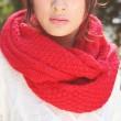 Mode Creme Verdreht Wolle Haar Band Gestrickt Stirnband Schal Für Lovers