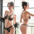 Sexy Lace Angel Wings Style Hollow Butterfly Panties Conjoined Women's Lingerie
