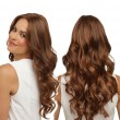 Neue afrikanische braune große gewellte lange lockige Dame Hair Perücke