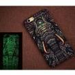 Kreativ Lumineszierende Matte Elefant Katze Löwe Stark Fall-Abdeckung für Iphone 6 / 6plus