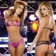 Sexy Bandage Damen Lackleder Bikinis Dessous