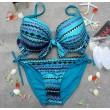 Hot Sexy Pailletten Gepolsterter Bandeau Bikinis Badeanzug