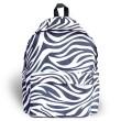 Harajuku Straßen Lässige Zebra Muster wasserfestem-Schule-Beutel Reisen Rucksack