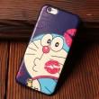 Mario Red Lip Doraemon Süßigkeit Genius Relief Silikon Taschen Für iPhone 5 / 5S / 6 / 6S