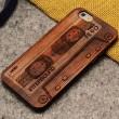 Tonband Crowne Pirates Crude Holz Dünn Fall Für iPhone 5 / 5S / 6 / 6Plus
