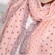Frau Winter Voile Schal Lange Schal-Schal Dual dot Scarf