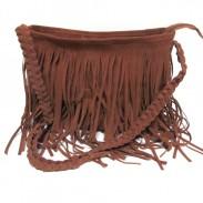 Mode Quaste Promi-Schulter-Kurier Umhängetasche Tote Handtasche