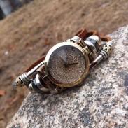 Glänzend Original Diamant Stücke Armband Uhr