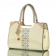 Elegante-Süßigkeit-Farben-Blumenausschnitt Handtaschen