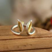 Kreative unterschiedlicher Handmade Kaninchen-Ohr-Ring / Schmuck Geschenk