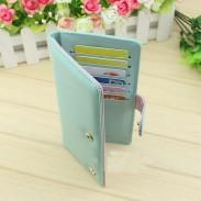 Elegante reine Multifunktions Crown Geldbörse Brieftasche
