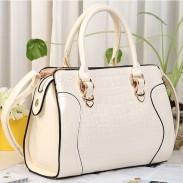 Arbeiten Sie eleganter Croc gebundene Ausgabe Handtaschen & Umhängetasche