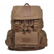 Multi-Tasche Leinwand Computerbeutel Reisetasche Rucksack