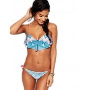 Jahrgang Gradient Tether Weste Bikini Badeanzug