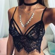 Sexy Black Lace Badeanzug Bikini Bademode Badeanzug