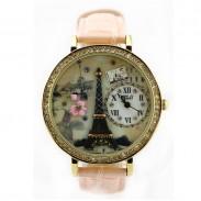 Romantiker Eiffelturm Polymer Lehm Uhr