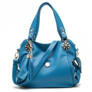 Mode Quasten Strass Schultertasche Handtasche