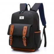Freizeit-Studenten-Schultaschen im Freienreise-Rucksack großer britischer Rucksack