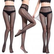 Sexy hohle Blumen-hohe Taillen-Fischnetz-dünne Frauen-Strümpfe