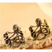 Einzigartiges Silber der Octopus Wrap Ring - GRÖSSE 5