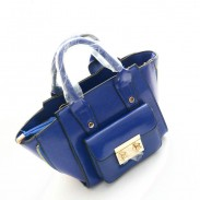 ModeMinimalist-Seiten-Reißverschluss Smiley Handtaschen