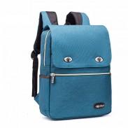 Einfache große Schule Rucksack Freizeit Nylon britischen Stil Studententasche