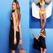Heiß Nizza reizvolles Strand Neckholder-Bikini-Rock