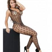Sexy Frauen sehen durch Netzstrümpfe Unterwäsche Dessous