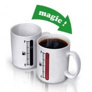 Kreatives Geschenk-magisches Thermometer-Farbändernde keramische Schale