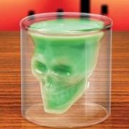 Kreativer Schädel Schuss eingesperrt Pirate Vodka Glass Cup