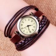 Gentiana Rope Weave Retro Armbanduhr