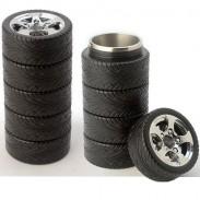 Kreatives Geschenk-rostfreier Reifen-Vakuum Cup