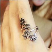 Vier Blumen Verpackungs Ring