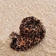 Mode Leopard Drucken Chiffon Unendlichkeit Schal