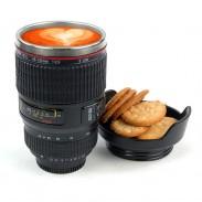 Kreativer Reise-Kameraobjektiv-Becher
