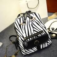 Mode Freizeit Zebra Multifunktions Hochschule Rucksack