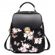 Frisch Mädchen Schmetterling Blume Schulranzen Beiläufig Rucksack