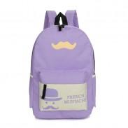Sommer Beard Pattern Reisetaschen Schule Rucksäcke