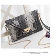 Lässige Tiere Crocodile Umschlag Unterarmtasche
