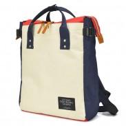 Mode Unisex Liebhaber Platz Große Leinwand Laptop Tasche Multifunktions Handtasche Rucksack