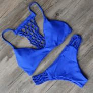Brasilien aushöhlen Sexy Bikini Set Badeanzug Strand Badeanzüge für Frauen