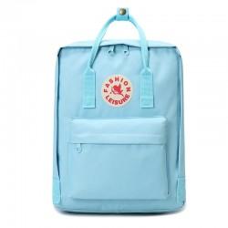Freizeit Logo Quadrat Wasserdichte Büchertasche für Teenager Oxford College Schultasche Studentenrucksack