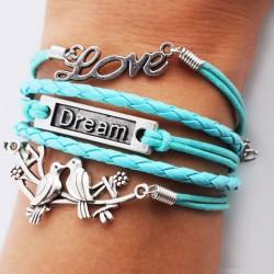 Rein Liebe Vogel Traum Armbänder
