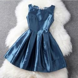 Edles-V Spitze-großer Bogen-Zurück-Kleid