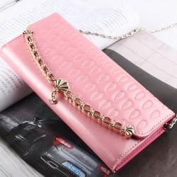Elegante Kette Shell-Handtasche und Brieftasche