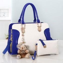 Mode Geprägtes Bär Handtaschen Umhängetaschen