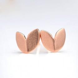 Fallende Blätter Ursprüngliche925 silberne Ohrringe Scrubs