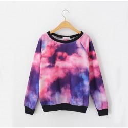 Neuer Stil Cosmic Ocean Sky Gradient Sleeve Sweater für Liebhaber